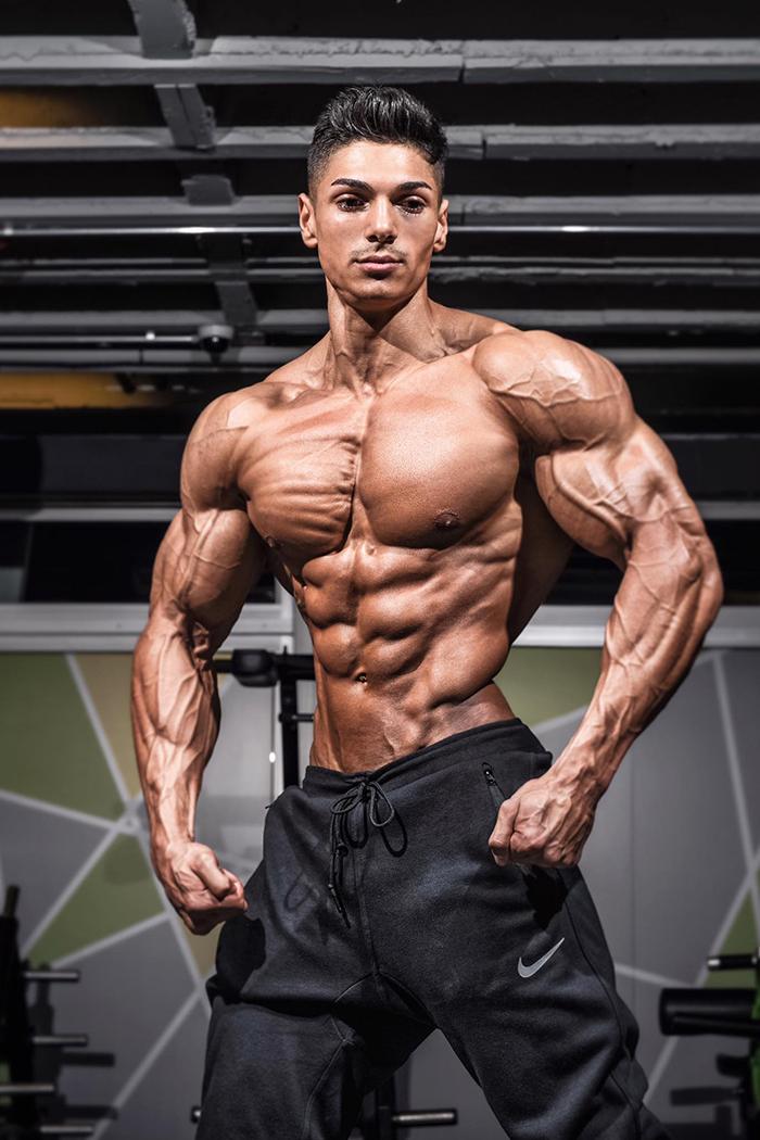 Mein mann ist bodybuilder